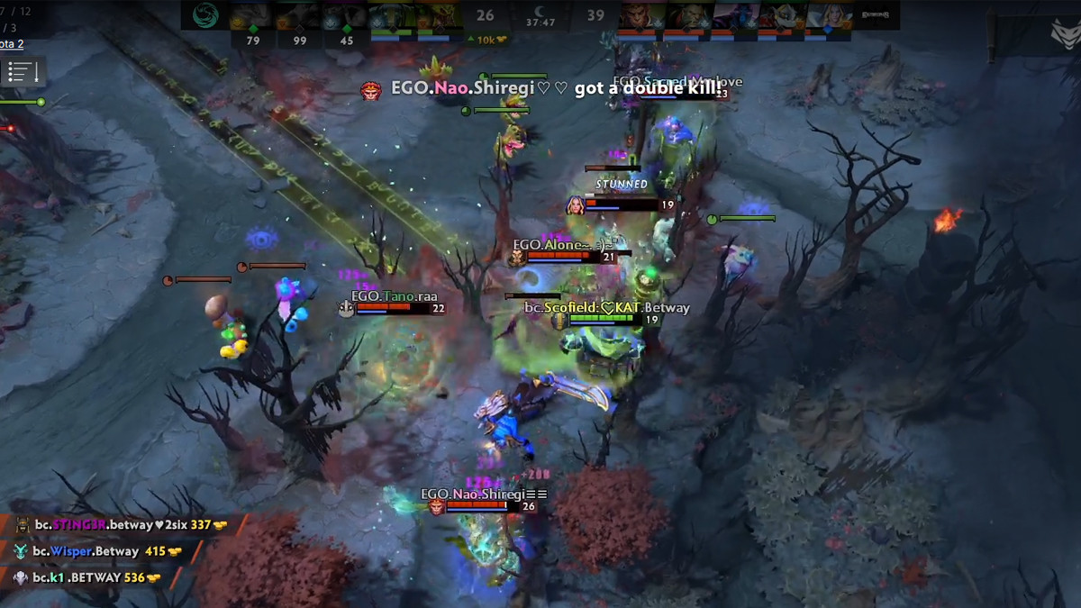 1v5 and KotL with Rapier: highlights of the first DPC week