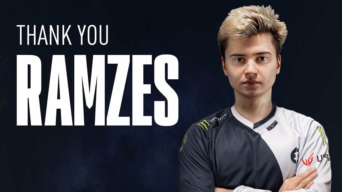 Ramzes officially leaves Evil Geniuses