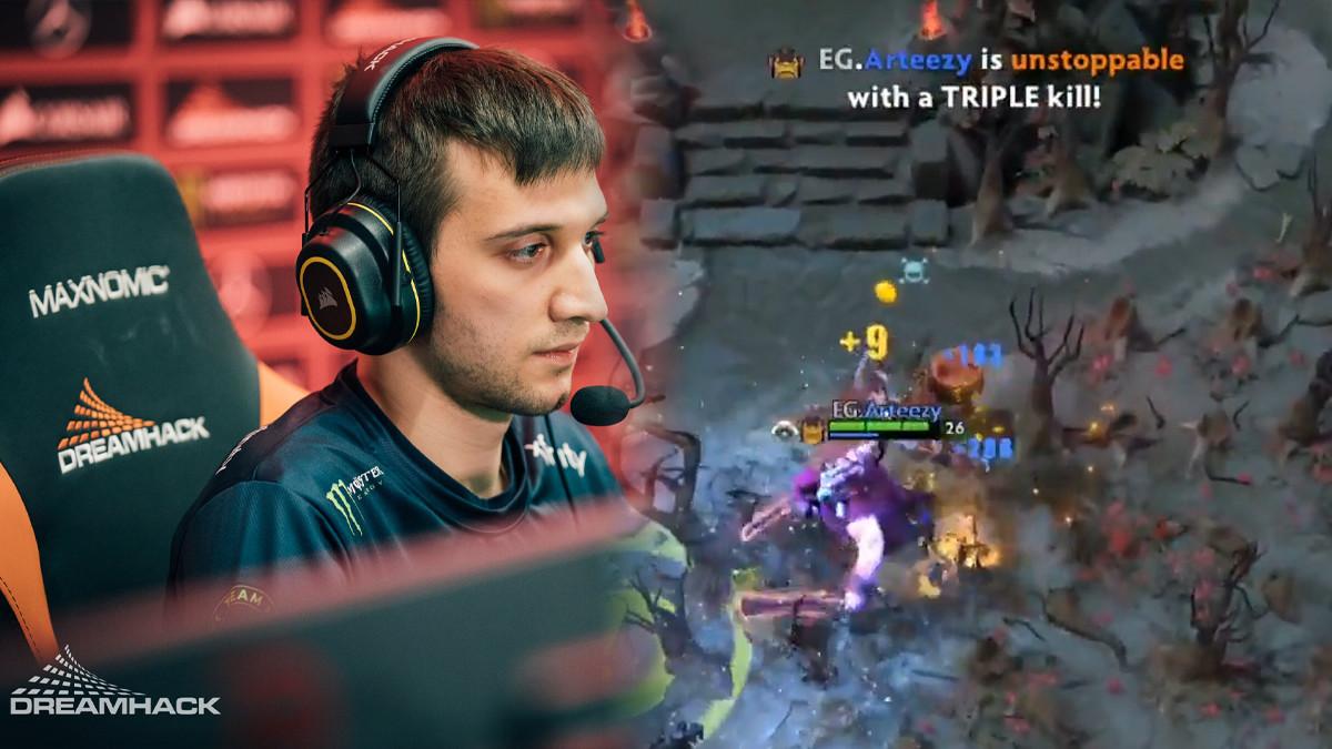 Roshan fails and 5head plays: DPC highlight clips