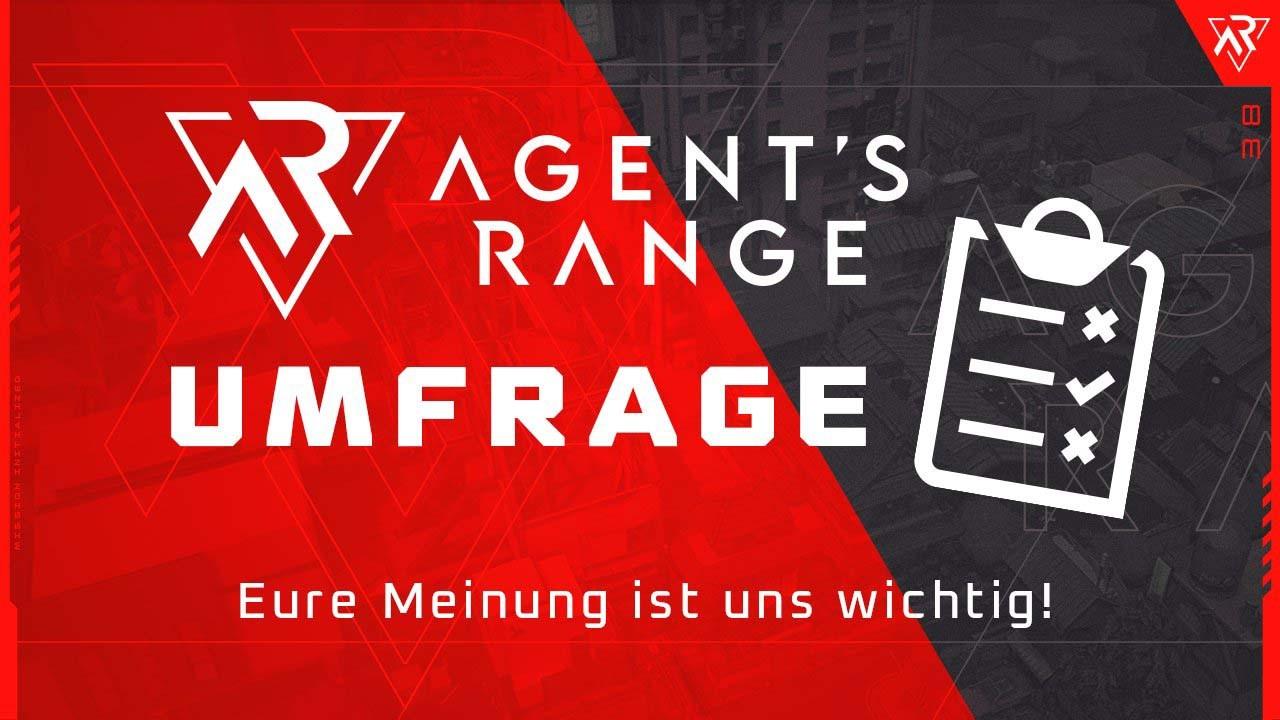 Agent's Range: Nimm an unserer Umfrage teil und gewinne Play Store oder App store Codes!