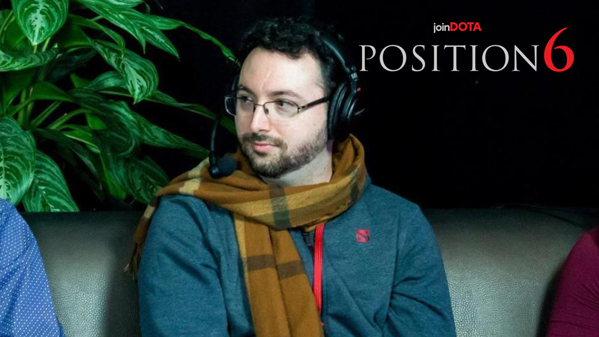 SUNSfan on his career, the Dota community and paneling versus casting   Position 6