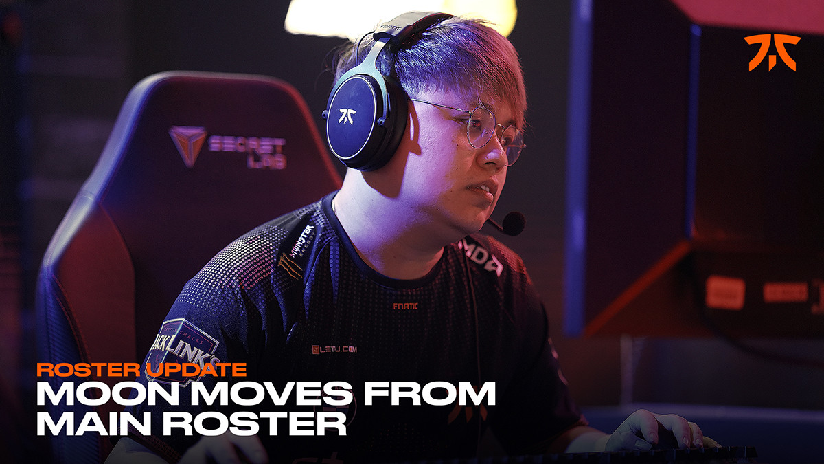 Fnatic move midlaner Moon to inactive roster