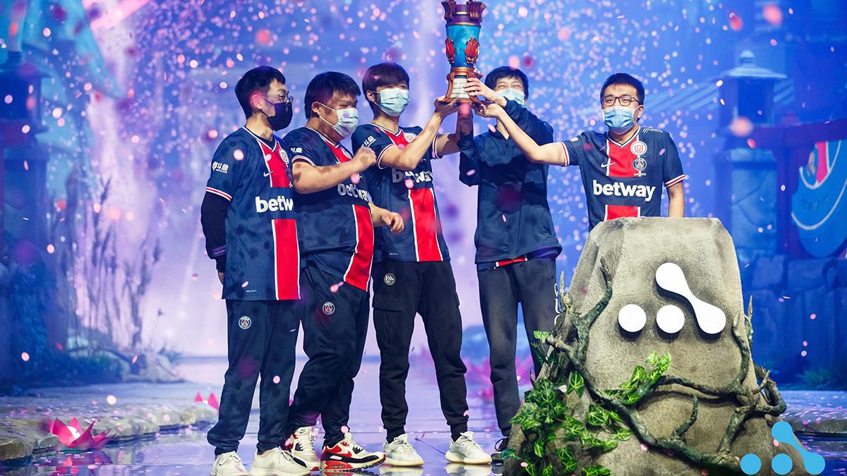 PSG.LGD claim AniMajor trophy after dominant 3-0 Grand Finals