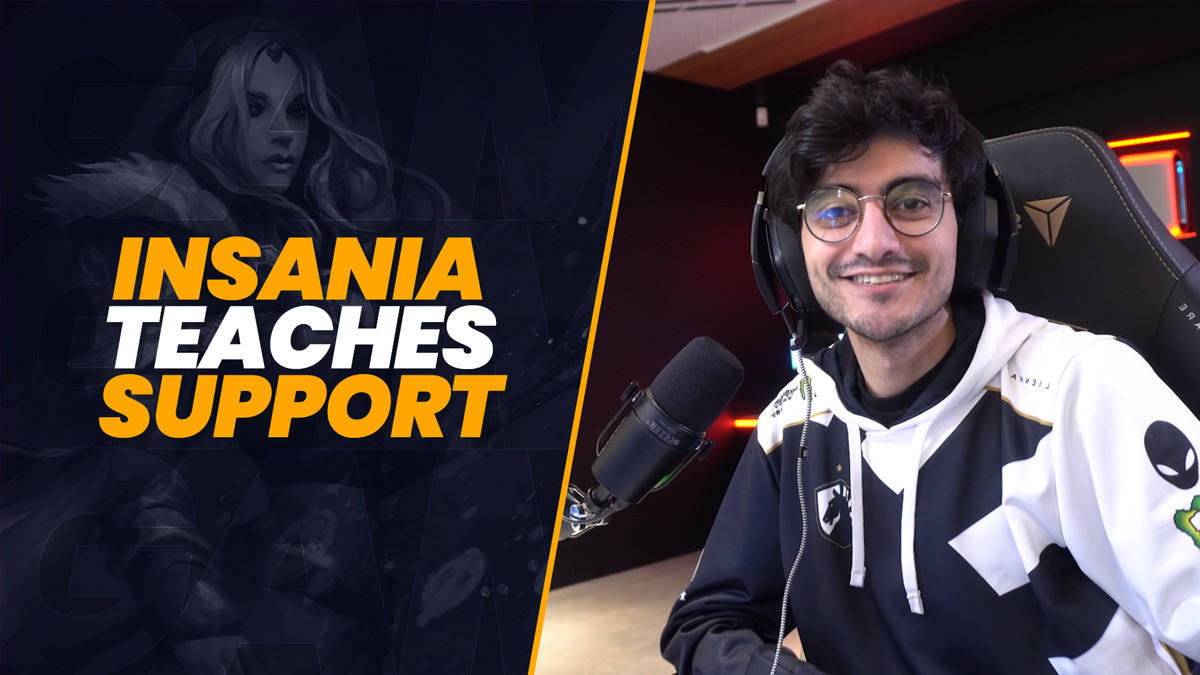 Control the late game as a support with iNSaNiA's GamerzClass