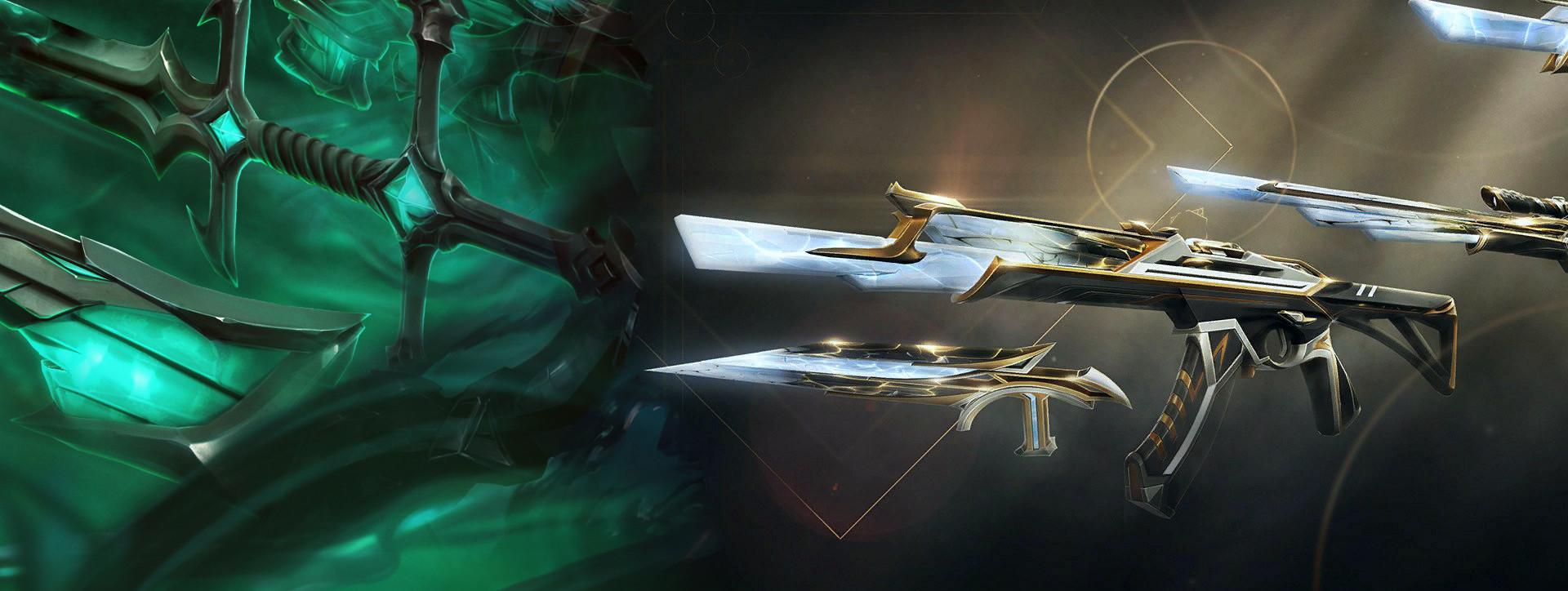 Sentinels-Skins bestechen mit Chromas und Rauchanimation