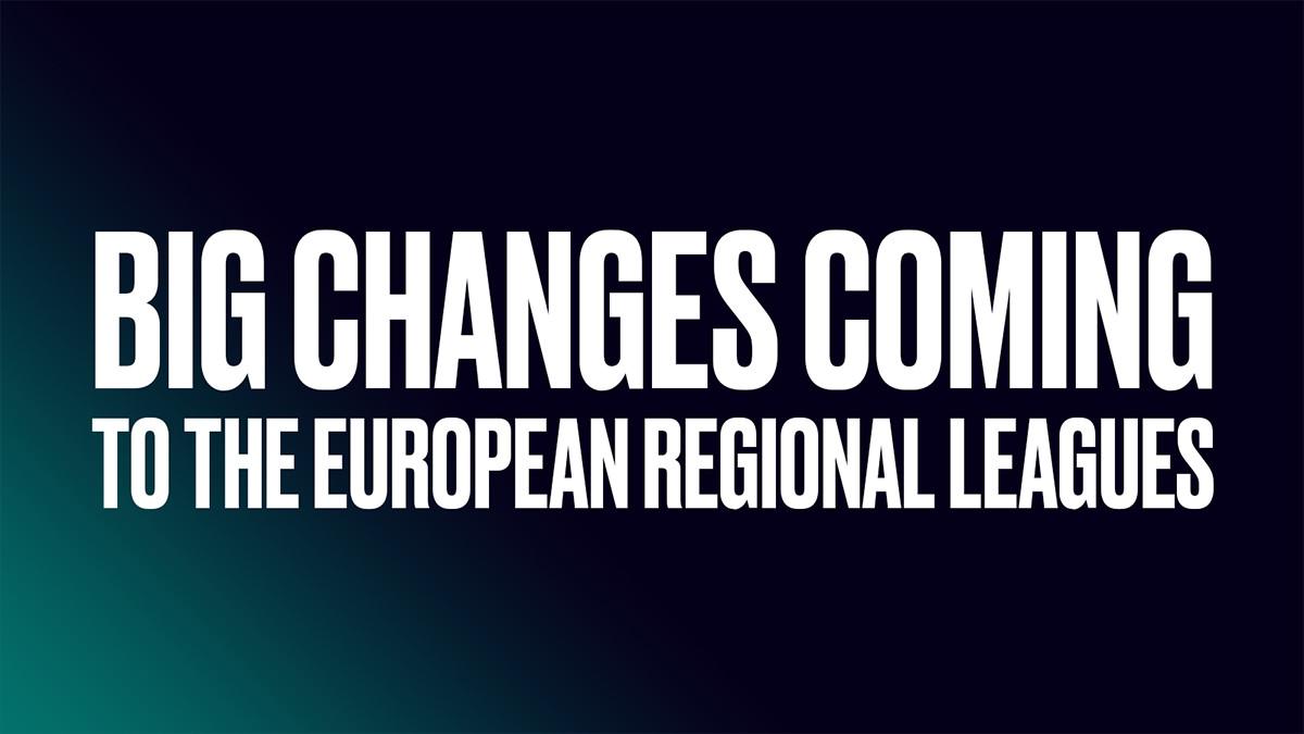 Riot verkündet Reform für nationale Ligen in 2022