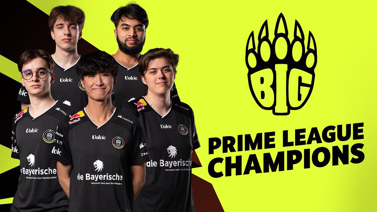 Sieg in Rekordzeit: BIG verteidigt Prime-League-Titel