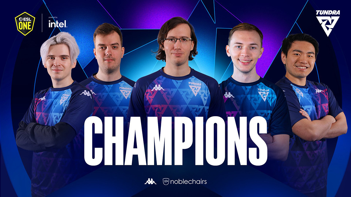 Tundra emerge victorious in ESL One Fall