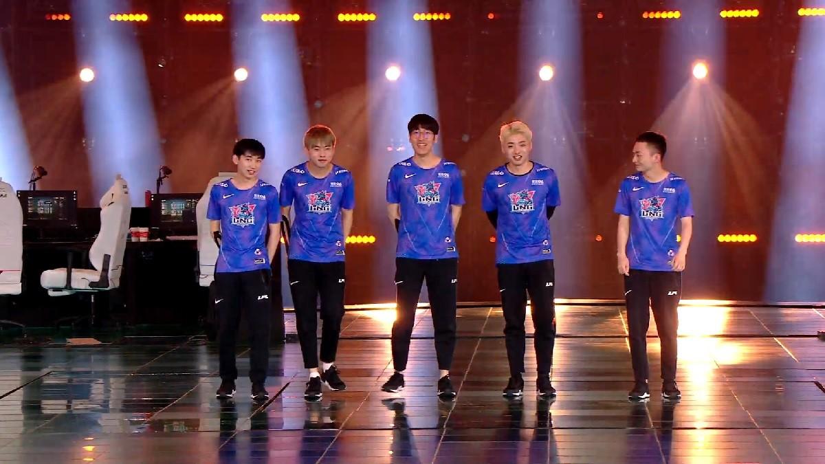 LNG Esports komplettiert chinesische Worlds-Teilnehmer