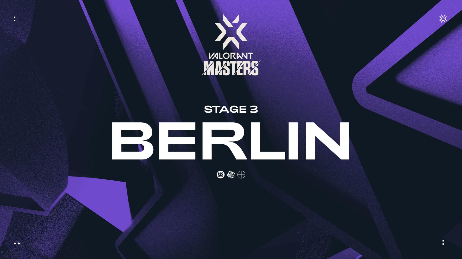VCT Masters Berlin : La phase de groupes