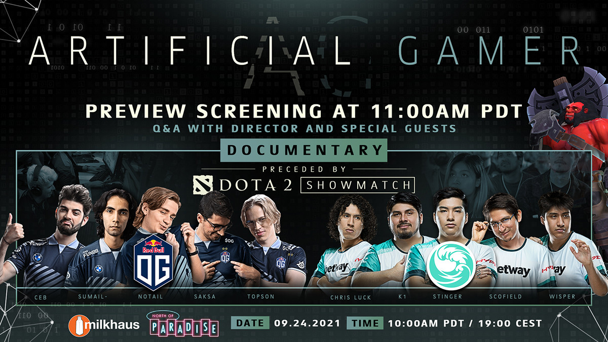 BTS to launch Artificial Gamer release show featuring special showmatch