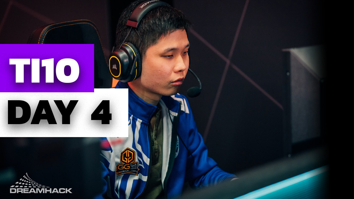 A smooth Aegis steal and Playoffs seeding: TI 10 Highlights Day 4