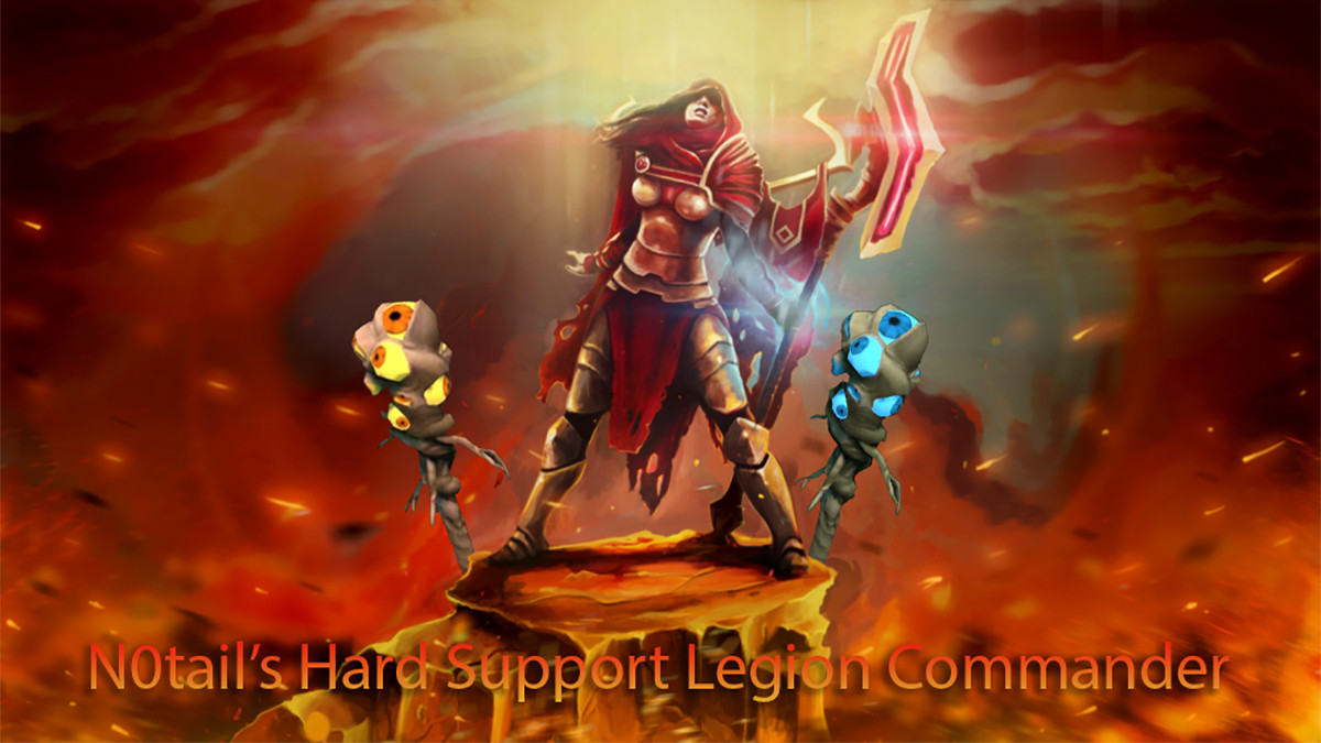 How N0tail dominated TI Groups with Hard Support Legion Commander