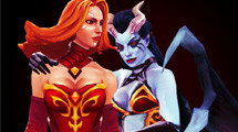 Queen of Pain still at 100% pick/ban in 6.84 pro scene, Lina most picked