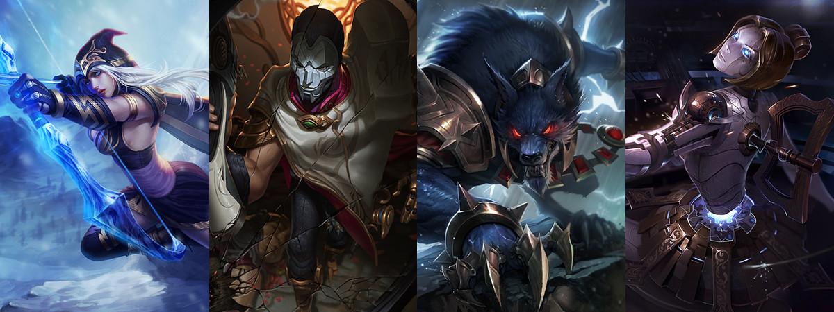 Riot Meddler Kündigt Ashe Und Jhin Nerfs In League Of Legends An
