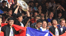 The victors of the $20 million International 6 are Wings!!!!