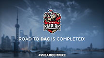 Team Empire to represent CIS at DAC