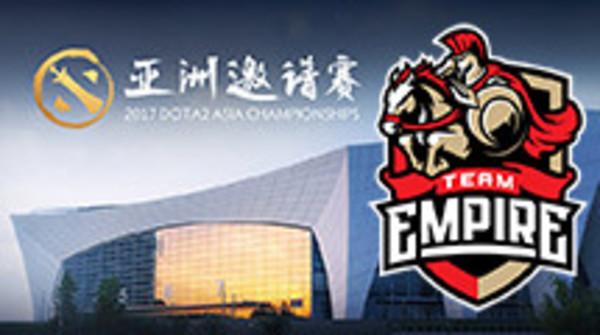 Team Empire: DAC upper bracket-bound?