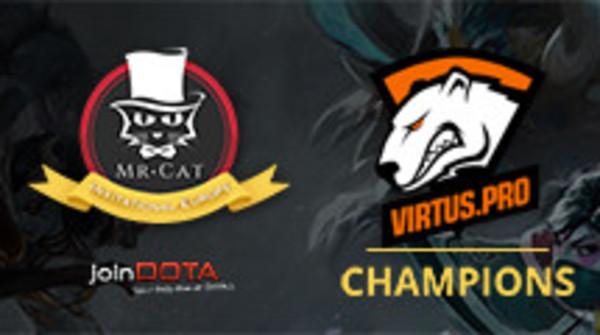 Virtus.pro make short work of Team Empire to win Mr. Cat EU Invitational