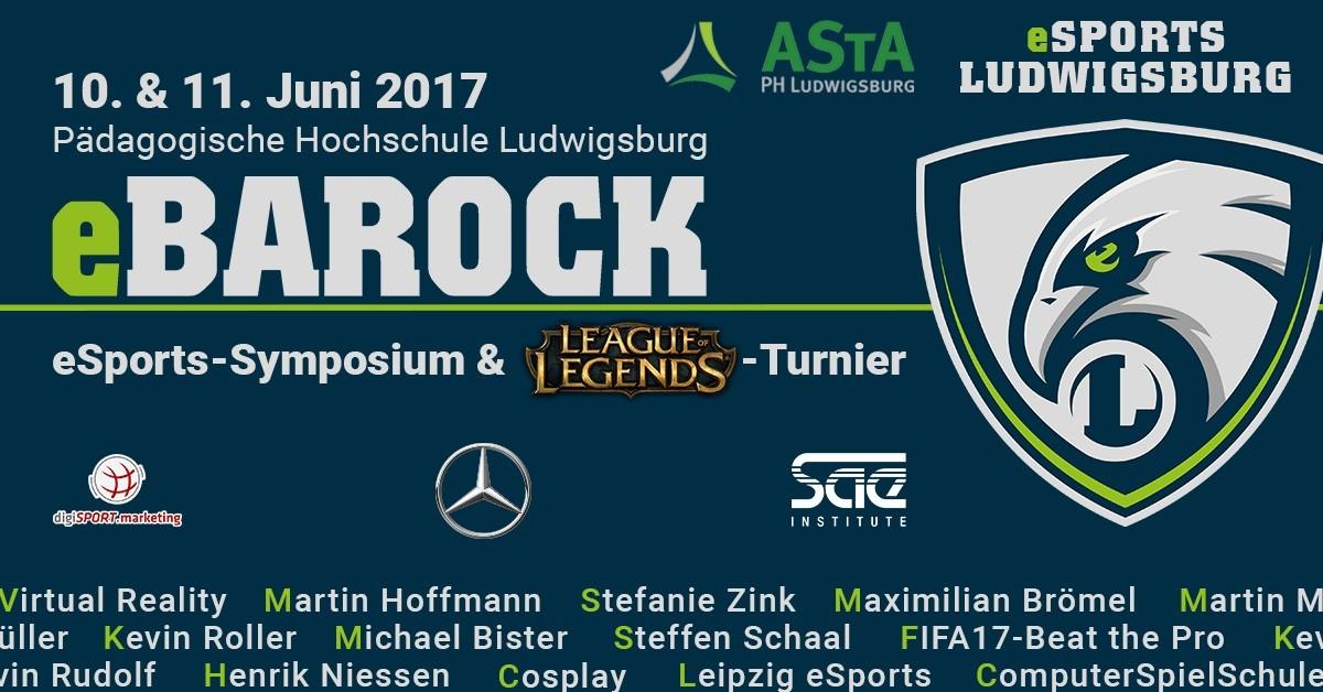 eBarock 2017: Das eSports-Event mit ESG in Ludwigsburg