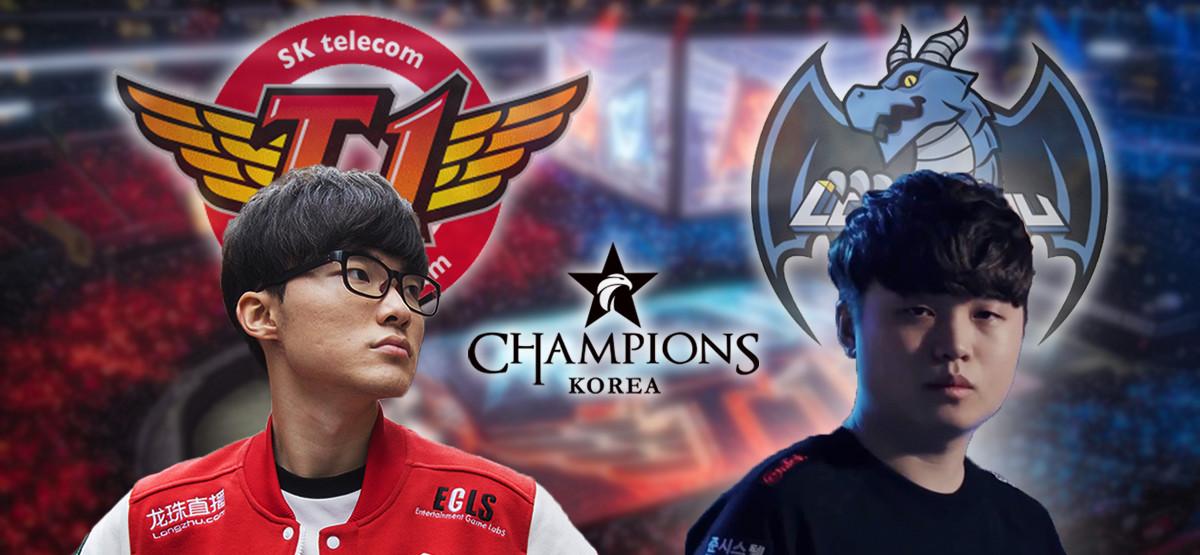 Darum ist SKT im LCK-Finale der große Favorit gegen Longzhu