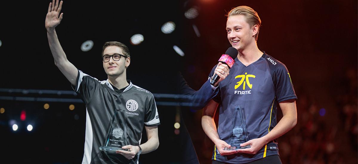 MVP-Award für Rekkles und Bjergsen
