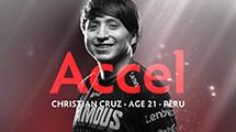 Infamous rebuild around Accel