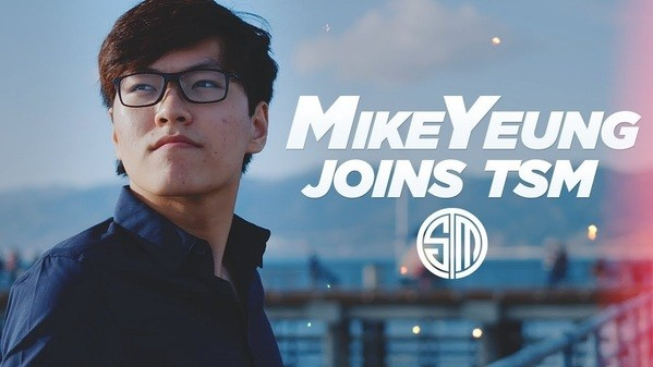 MikeYeung offiziell zu TSM *UPDATE*