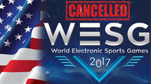 """""""Current migration policy of USA"""" forces WESG to cancel LAN"""