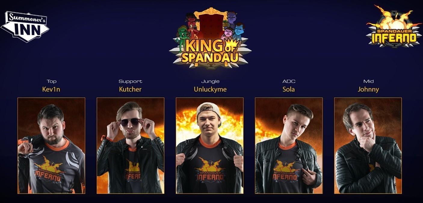 SPIN siegt erneut, King of Spandau gekrönt