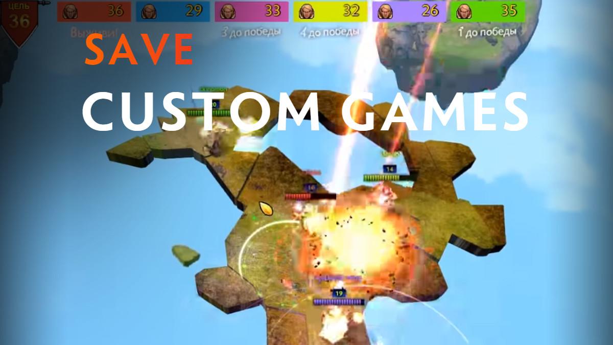 Dota 2 modders band together to 'Save Custom Games' « News