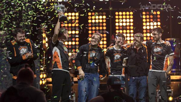 Virtus.pro are now three time Major winners!
