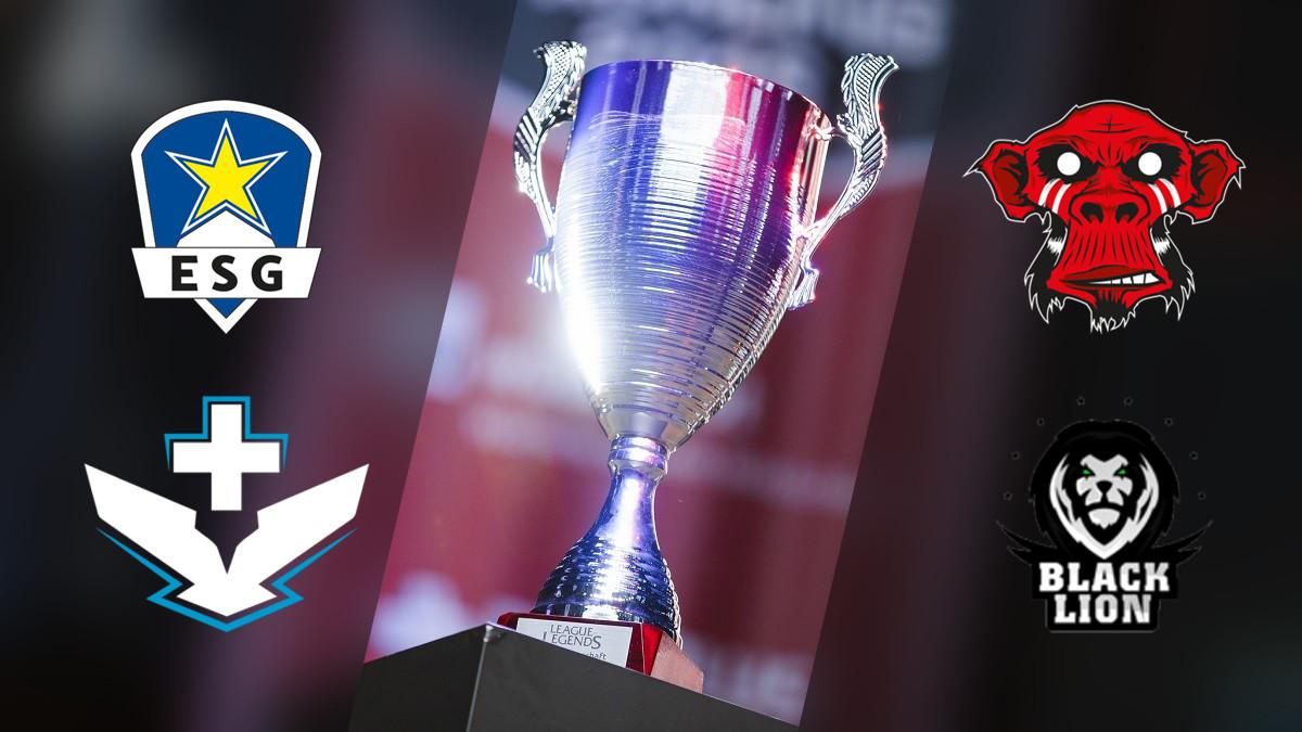 ESL Meisterschaft: Black Lion als Aufsteiger in Playoffs