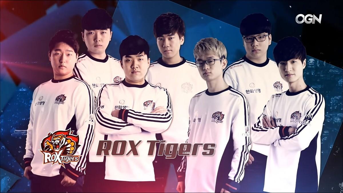Die ROX Tigers werden zu Hanwha Life Esports