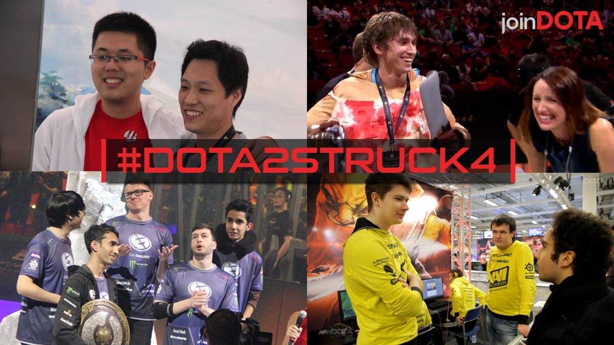 The four most influential players in Dota 2 history #Dota2Struck4