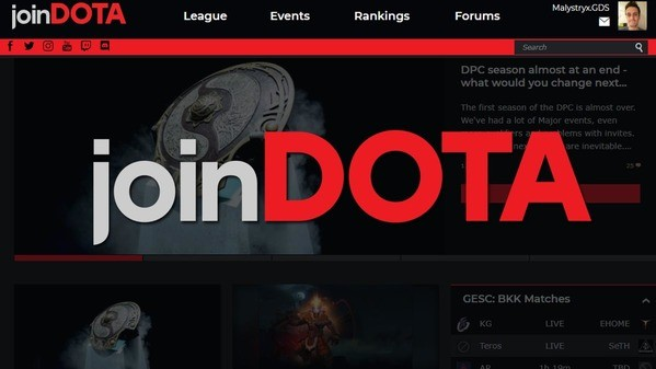 Welcome to joinDOTA 3.0!  Our website redesign has arrived