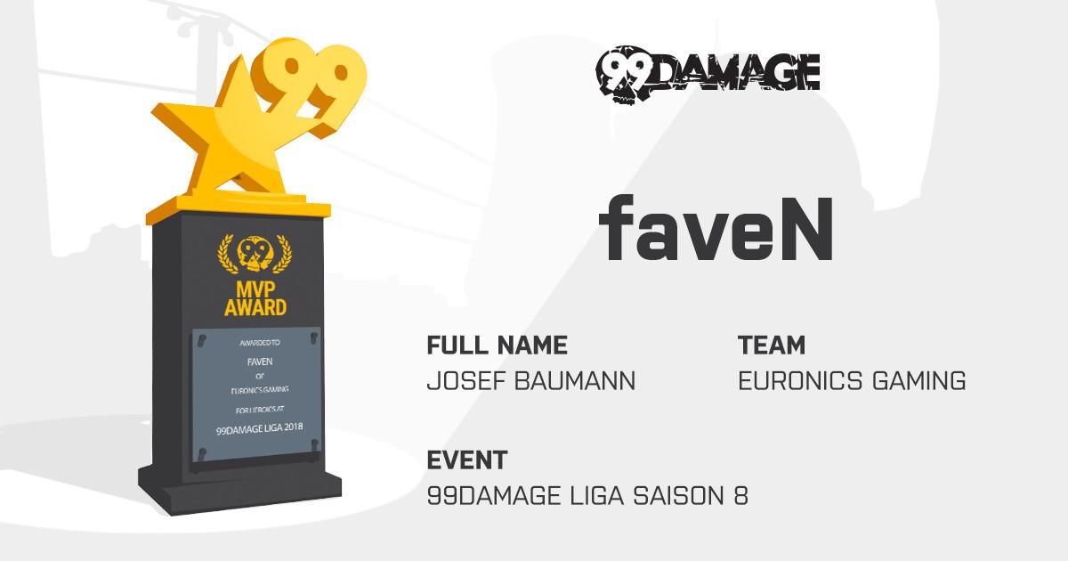 faveN wird MVP der 99Damage Liga!