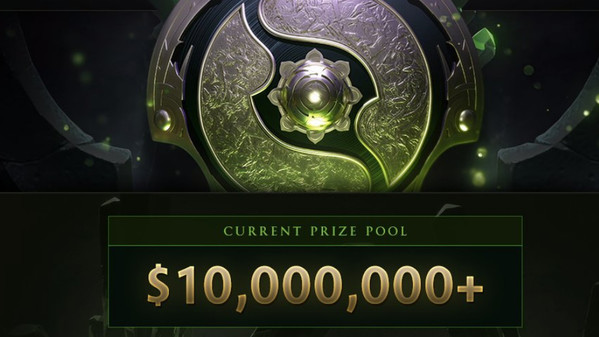 TI8 prizepool already at $10 million. On track for a new record?