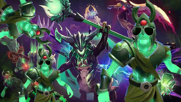 Custom Skeletons?! Yes please. Immortal Treasure II drops