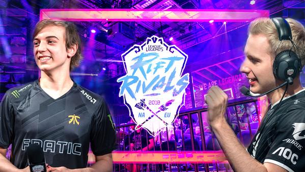 Rift Rivals-Spielpläne: Dann spielen Fnatic, G2 und Co.