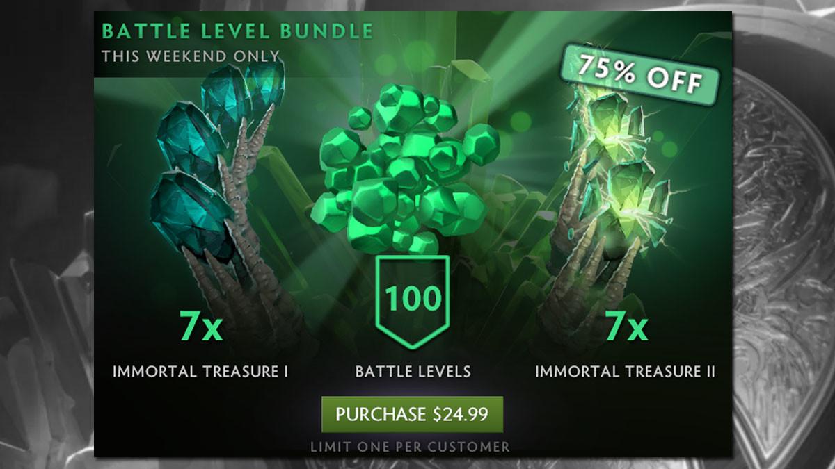 Prepare your ... wallets. It's Battle Bundle time