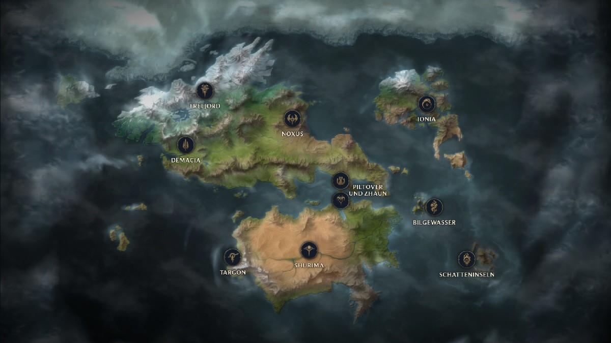 Nach interaktiver Runeterra-Karte: Fans hoffen auf League of ...