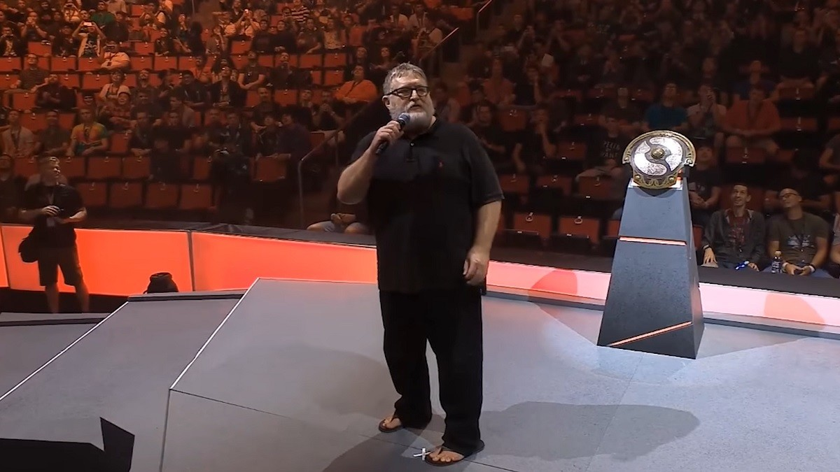 'Welcome to The International' - will we see Gabe again?