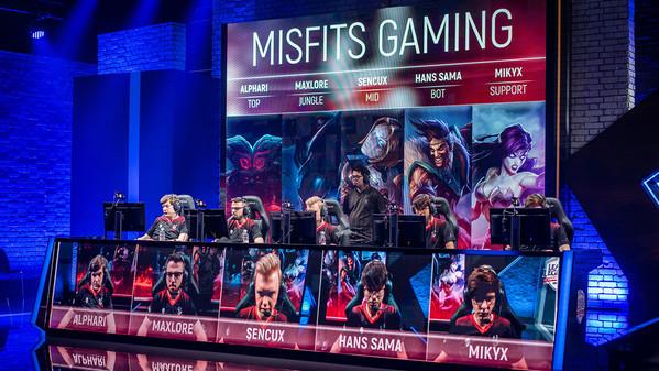 Misfits Gaming eröffnet Esport-Arena in Berlin