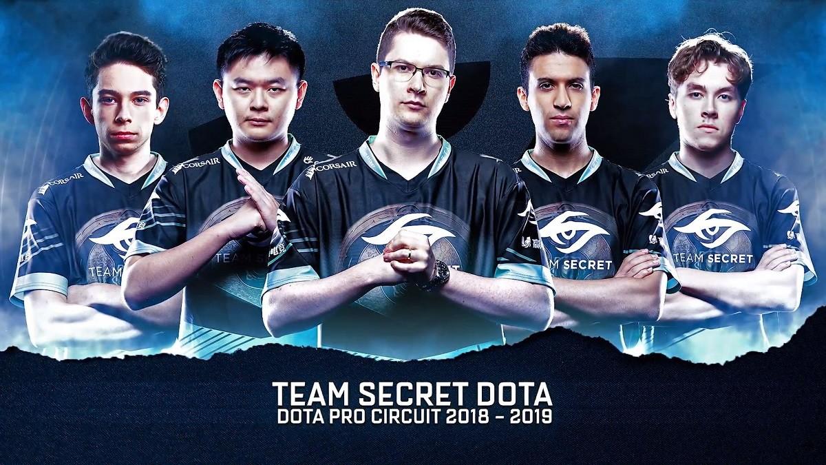Team Secret announce 2018-19 roster