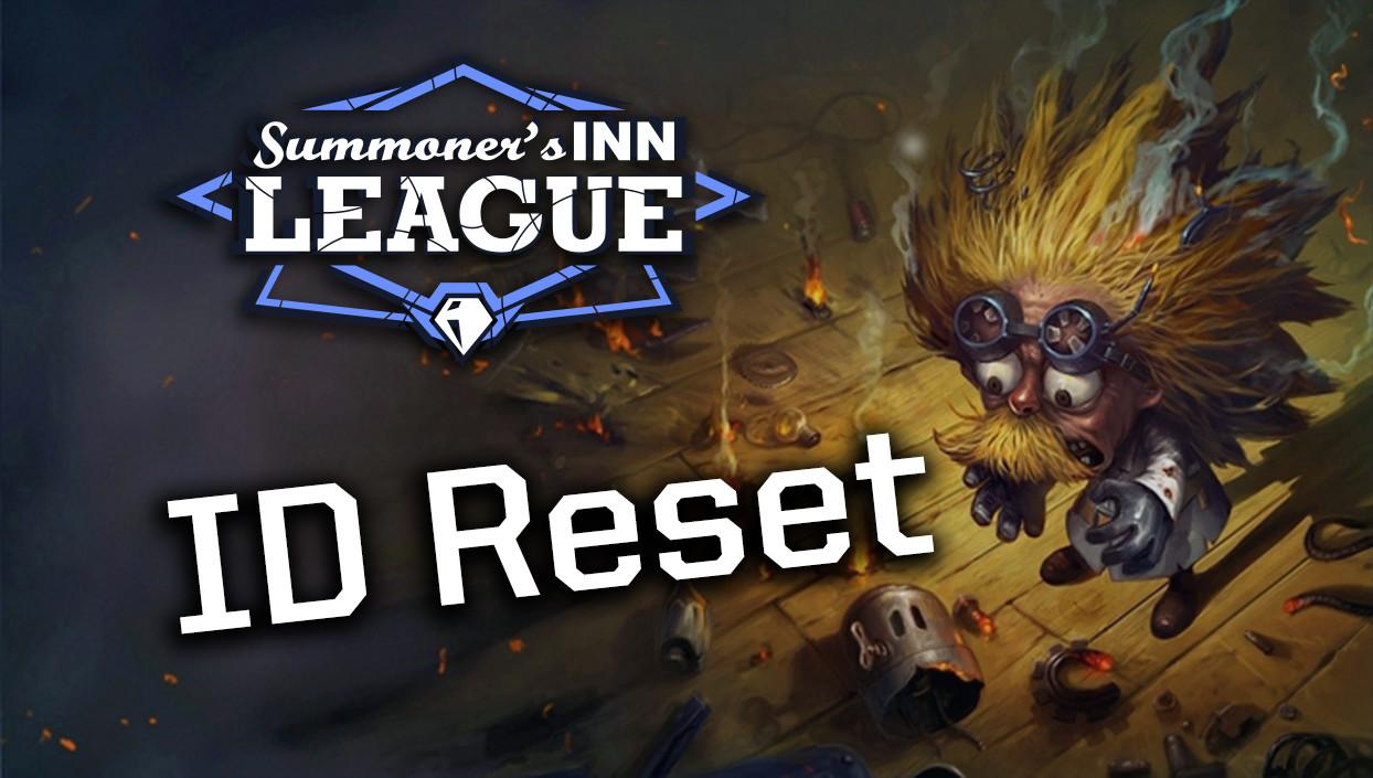 SINN League: ID-Reset für alle!