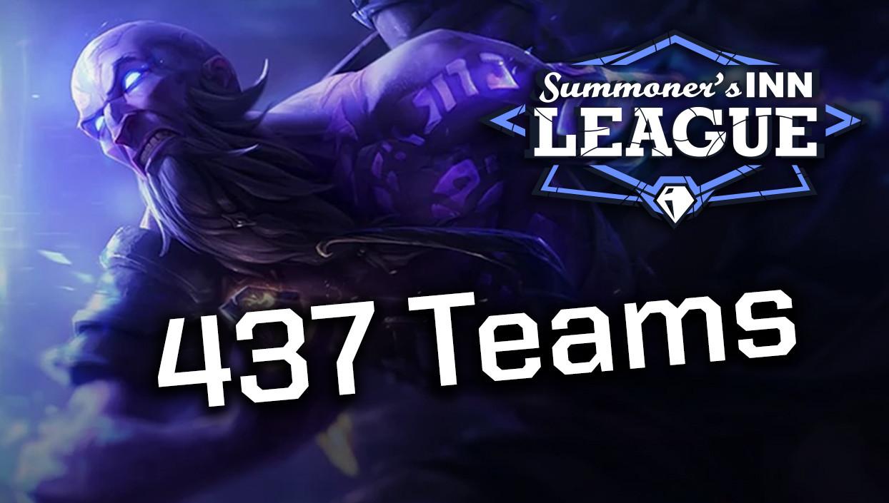 437 Teams starten in Season 1!
