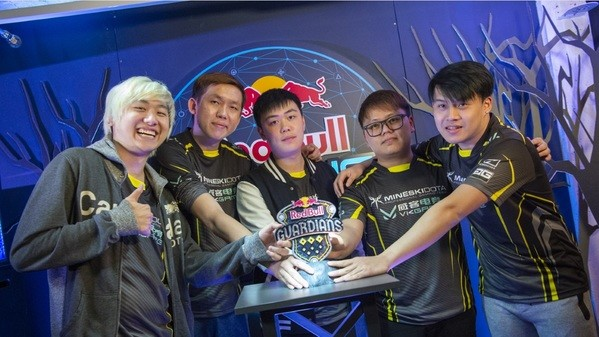 Red Bull Guardians: Mineski take home gold