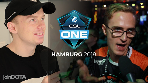 ppd answers fan questions at ESL One Hamburg