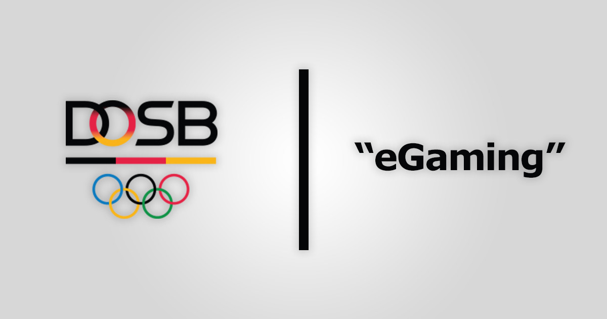 """DOSB: Virtueller Sport ja, """"eGaming"""" nein"""